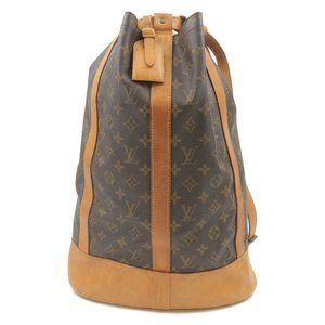 Auth Louis Vuitton Randonnee GM with wallet
